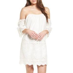 ASTR the Label Off the Shoulder Dress, Medium